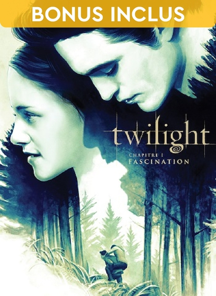 Affiche du film Twilight, chapitre 1 : fascination