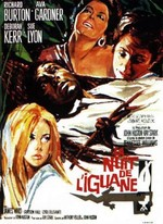 THE NIGHT OF THE IGUANA (LA NUIT DE L'IGUANE, JOHN HUSTON, 1964)