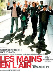 Affiche du film LES MAINS EN L AIR