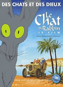 Affiche du film LE CHAT DU RABBIN