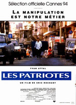 LES PATRIOTES (ERIC ROCHANT, FRANCE-1994)
