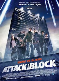 Affiche du film ATTACK THE BLOCK