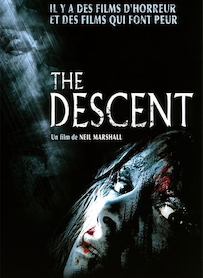 Affiche du film THE DESCENT
