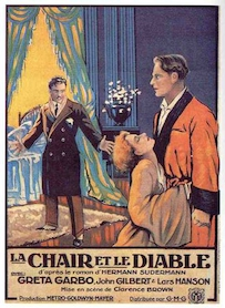 Affiche du film LA CHAIR ET LE DIABLE