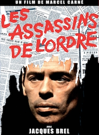 Affiche du film LES ASSASSINS DE L ORDRE