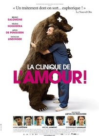 Affiche du film LA CLINIQUE DE L AMOUR