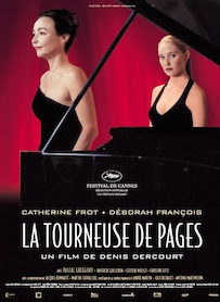 Affiche du film LA TOURNEUSE DE PAGES