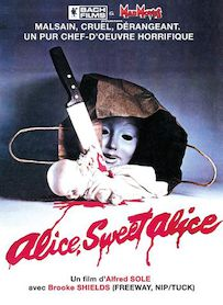 Affiche du film ALICE SWEET ALICE
