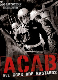 Affiche du film A.C.A.B : All Cops Are Bastards