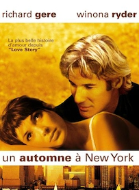 Affiche du film UN AUTOMNE À NEW YORK