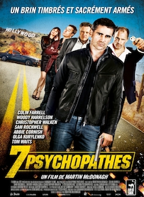 Affiche du film 7 psychopathes