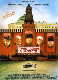 Affiche du film TWIST AGAIN À MOSCOU