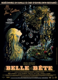 Affiche du film LA BELLE ET LA BÊTE (VERSION RESTAURÉE)