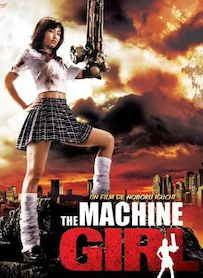 Affiche du film THE MACHINE GIRL