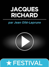 Affiche du film JACQUES RICHARD