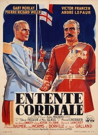 Affiche du film Entente cordiale