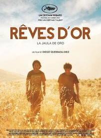 Affiche du film REVES D OR