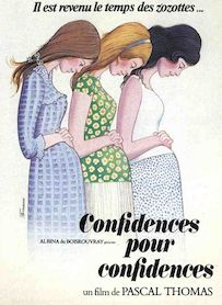 Affiche du film CONFIDENCES POUR CONFIDENCES