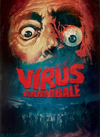 Affiche du film VIRUS CANNIBALE