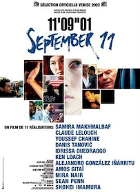 Affiche du film 11 MINUTES 9 SECONDES 1 IMAGE SEPTEMBER 11