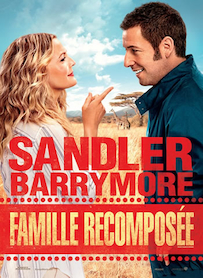 Affiche du film FAMILLE RECOMPOSEE (BLENDED)