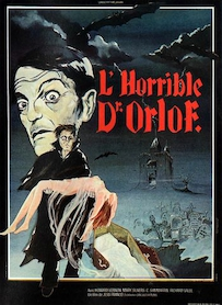 Affiche du film L HORRIBLE DR. ORLOF