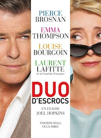 Affiche du film Duo d escrocs