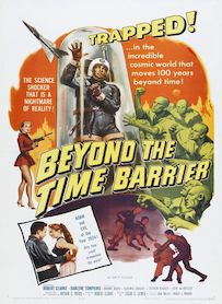 Affiche du film Beyond the Time Barrier