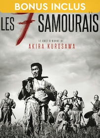 Affiche du film LES SEPT SAMOURAÏS (VERSION RESTAURÉE)