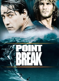 Affiche du film POINT BREAK, EXTRÊME LIMITE