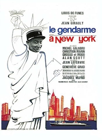 Affiche du film LE GENDARME A NEW YORK