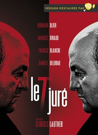 Affiche du film LE SEPTIÈME JURÉ (VERSION RESTAURÉE)
