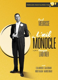 Affiche du film L oeil du Monocle (VERSION RESTAURÉE)