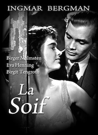 Affiche du film La soif (VERSION RESTAURÉE)
