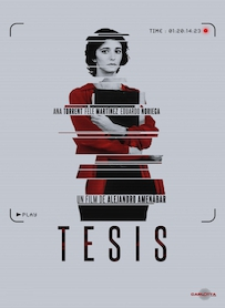 Affiche du film TESIS (VERSION RESTAURÉE)