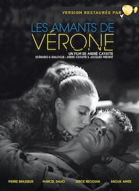 Affiche du film LES AMANTS DE VÉRONE (VERSION RESTAURÉE)
