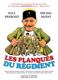 Affiche du film LES PLANQUES DU REGIMENT