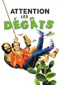 Affiche du film ATTENTION LES DEGATS