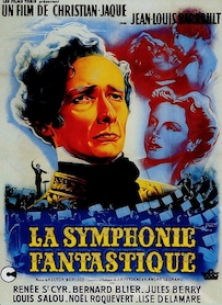 Affiche du film LA SYMPHONIE FANTASTIQUE (VERSION RESTAURÉE)