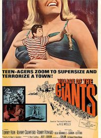 Affiche du film VILLAGE OF THE GIANTS
