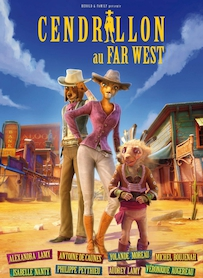 Affiche du film CENDRILLON AU FAR WEST