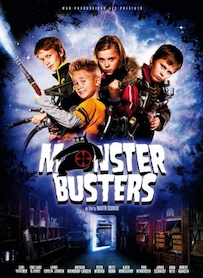 Affiche du film MONSTER BUSTERS