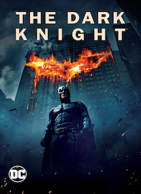 Affiche du film THE DARK KNIGHT, LE CHEVALIER NOIR
