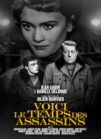 Affiche du film VOICI LE TEMPS DES ASSASSINS... (VERSION RESTAURÉE)