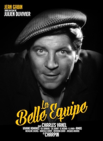 Affiche du film LA BELLE ÉQUIPE (VERSION RESTAURÉE)