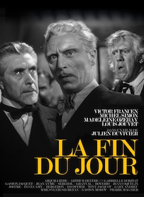 Affiche du film La fin du jour (VERSION RESTAURÉE)
