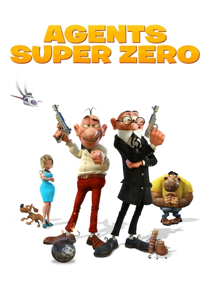 Affiche du film AGENTS SUPER ZÉRO