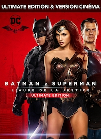 Affiche du film BATMAN VS SUPERMAN: L AUBE DE LA JUSTICE (ULTIMATE EDITION)