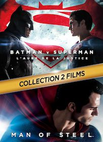 Affiche du film PACK BATMAN VS SUPERMAN - MAN OF STEEL