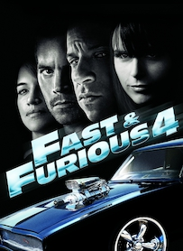 Affiche du film FAST AND FURIOUS 4